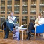 Marco Malvaldi in Biblioteca