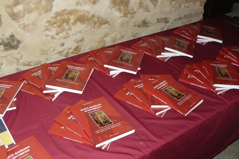 libro Santa Barbara di Nicomedia