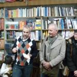 Marco Malvaldi con i lettori in Libreria